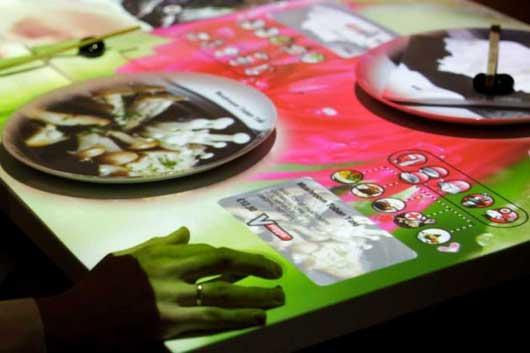 Un modelo de restaurante interactivo